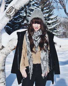There's a new look on TF&F today featuring some of my winter staples! Check it out! ❄️