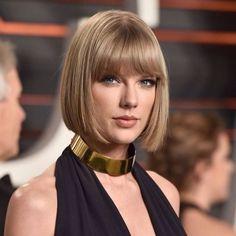 Taylor Swift | Cortes e Penteados para Cabelos Curtos 2016 - Short Hair #Bob…
