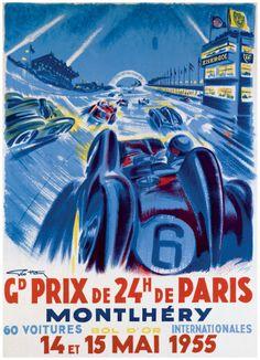 Grand Prix de 24 heures de Paris 1955