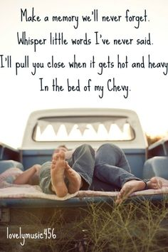 Bed of My Chevy - Justin Moore