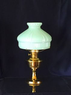 Antique Turn-of-the-Century Brass Aladdin by MauraLynnsCollection