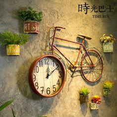 Restaurant Interior Design, Shop Interior Design, Cafe Design, Bicycle Decor, Tv Wall Design, Coffee Shop Design, Diy Clock, Cute Room Decor, Home Room Design