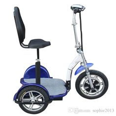 Hot Selling Powerful Three Wheel Electric Tricycle Scooter Bike Bicycle Motorbike 500W Motor Green Personal Transporter For Elderly Disabled Self Balancing Motorcycle Scooters Electric From Sophie2013, $482.42   DHgate.Com Electric Scooter With Seat, Electric Tricycle, Scooter Bike, Bicycle, Third Wheel, Motorbikes, Motorcycle, Vehicles, Scooters