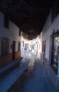 Setenil de las Bodegas in Spain - I have great memories visiting Setenil den