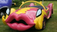 Penelope Pit stop Car Is my dream car Strange Cars, Weird Cars, Crazy Cars, Mode Bizarre, Car In The World, My Dream Car, Car Humor, Amazing Cars, Hot Cars