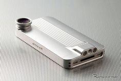 由良拓也デザイン、ジュラルミン削り出しiPhoneケース / MoonCraft Duralumin iPhone Case for iPhone 4/4S