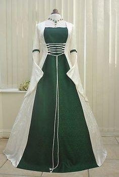 green medieval wedding dresses - Green Ajah