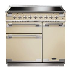 Piano De Cuisson Inox Falcon Elise Cm Induction Idées Dco - Cuisiniere mixte induction gaz pour idees de deco de cuisine
