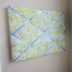 "16""x20"" Memory Board or Bow Holder-Coffee Bean Moss Batik                                                                                                                                                                                 More"