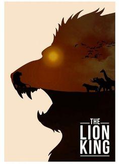 The Lion King 10 Beautiful Alternative Disney Movie posters Author: Rowan Stocks-Moore Disney Films, Art Disney, Disney Kunst, Disney Bound, Animated Movie Posters, Disney Animated Movies, Film Posters, Cartoon Posters, Cartoons
