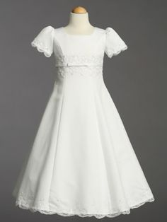 First Holy Communion dresses are the first of many important dresses in your young girl's life. Description from thechristeningcottage.com. I searched for this on bing.com/images