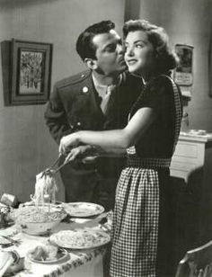 Marsha Hunt & John Carroll (A Letter for Evie 1946) Jules Dassin. Photo Metro Goldwyn Mayer.