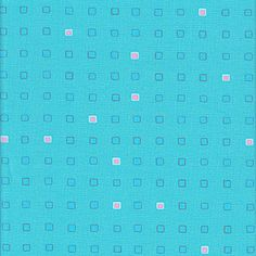 Jay McCarroll Woodland Wonderland - Polka Blocks, Teal - $9.50 per yard