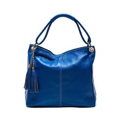 Anna Luchini Leather Handbag, Blue