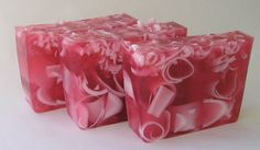 Wild Cherry Handmade Glycerin Soap by TheScentedRetreat on Etsy