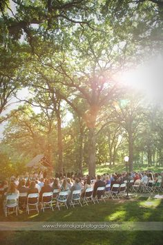 Outdoor ceremony outdoor and tennessee on pinterest
