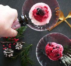 Enkel och lyxig nyårsdessert! Bärsorbet med bubbel – klar på 5 minuter - Metro Mode