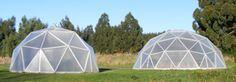 The geodesic dome's inherent strength is derived from its most basic component, the triangle.  Stress is distributed along the triangles' surfaces rather than concentrated on the joints.  Wind flows easily over its curved surface, and a greenhouse or a dome can be built for housing in the most extreme conditions of Antartica against wind, snow, and ice.  This is resistance you can benefit from.  A kit dome can be erected more quickly that any current building of equivalent size.