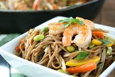 Teriyaki Shrimp Soba Noodle Bowls | Tasty Kitchen: A Happy Recipe Community!