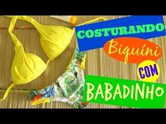 Biquíni Tropical - Costura de Calcinha com Babadinho - YouTube