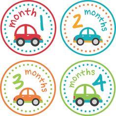 Baby Month Stickers Baby Monthly Stickers by LittleLillyBugDesign Dragon Baby Shower, Baby Dragon, New Sticker, Sticker Paper, Password Organizer, New Grandparents, Baby Month Stickers, Babies First Year, Baby Scrapbook