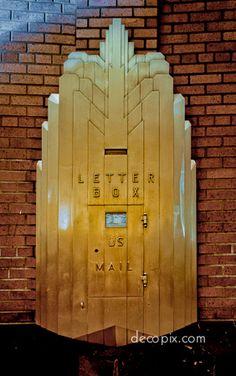 Decopix - The Art Deco Architecture Site - Art Deco Metalwork Gallery