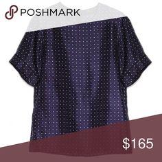 rag & bone Silk Polka Dot Top Brand new with tags! 🌟 Size XXS. Luxe silk twill. 100% silk. rag & bone Tops Blouses