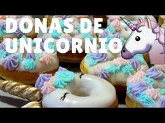 Como hacer donas de Unicornio l Petit Gâteau - YouTube