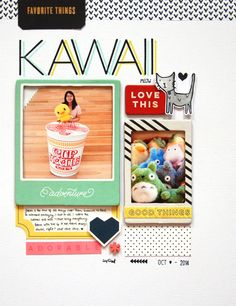 Blog: Tutorial - Start to Finish Layout   Geralyn Sy - Scrapbooking Kits, Paper & Supplies, Ideas & More at StudioCalico.com!