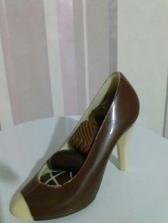 Shoes gil chocolate .