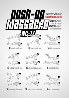 Push Up Massacre Upper Body Strength Workout For Everyone