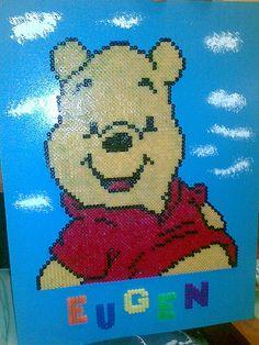 Winnie the Pooh hama beads by Tammyta