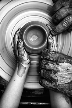 """laurenarlene:  Memorie tramandatebySicut Nox SilentesonFlickr // """"Yet you, LORD, are our Father. We are the clay, you are the potter; we are all the work of your hand."""" -Isaiah 64:8"""