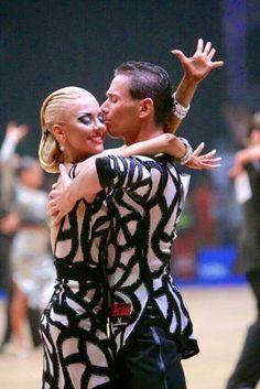 Armen Tsaturyn and Svetlana Gudyno       - WDSF European Championship July 2016