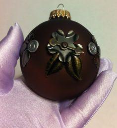 Steampunk Flower Christmas Ornament. 10