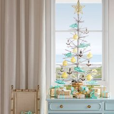 Decorating Coastal Christmas Trees - Coastal Living