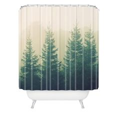 DENY Designs Chelsea Victoria Going The Distance Shower Curtain