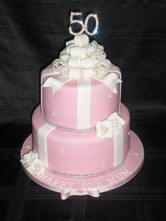 50th Birthday cake :)