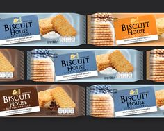 Let's Eat Homemade Biscuit...!!!! Biscuit House packaging designed by Prompt Design.