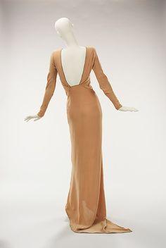 Evening ensemble Designer: Jessie Franklin Turner Date: ca. 1930 Culture: American Medium: silk Accession Number: 2009.300.1356a, b