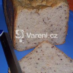 Fotografie receptu: Chléb se sýrem cottage a lněným semínkem Banana Bread, Cottage, Desserts, Food, Tailgate Desserts, Meal, Deserts, Essen, Cottages