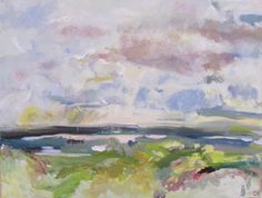 View from the Trundle Oil on Canvas 60 x 80 cm £ 995 #Art #Paintings #Landscape