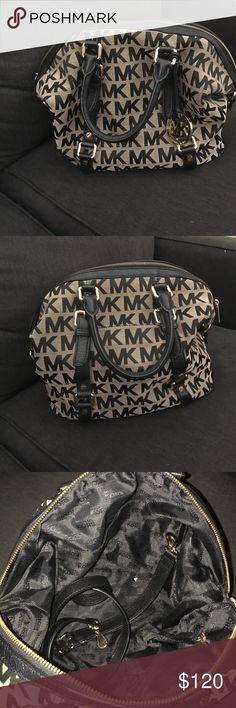 13e57d478134 Michael Kors purse Beige and black purse. Comes with shoulder strap. Michael  Kors Bags