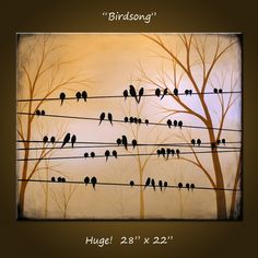 Birds on a wire...