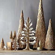 25 Beautiful Christmas Tree DIY Ideas for your inspiration | Read full article: http://webneel.com/christmas-tree-diy-decoration-ideas | more http://webneel.com/christmas-cards | Follow us www.pinterest.com/webneel