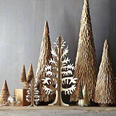 25 Beautiful Christmas Tree DIY Ideas for your inspiration | Read full article: http://webneel.com/christmas-tree-diy-decoration-ideas | more http://webneel.com/christmas-cards | Follow us www.pinterest.com/webneel