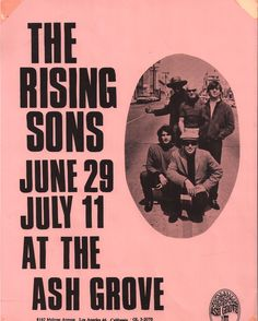 The Rising Sons (includes Ry Cooder, Taj Mahal)