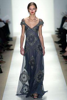 Badgley Mischka - ready to-wear   fall 2004