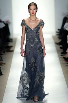 Badgley Mischka - ready to-wear   fall 2004