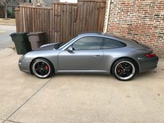 Anyone have Fuchs replicas on their - Page 3 - Rennlist - Porsche Discussion Forums Seal Grey. Porsche 911 997, Oem Wheels, Black Wheels, Train Car, Dream Cars, Automobile, Design, Vintage Cars, Motorbikes